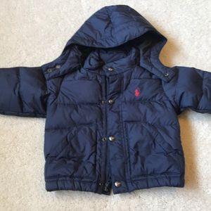 12 month Ralph Lauren winter coat